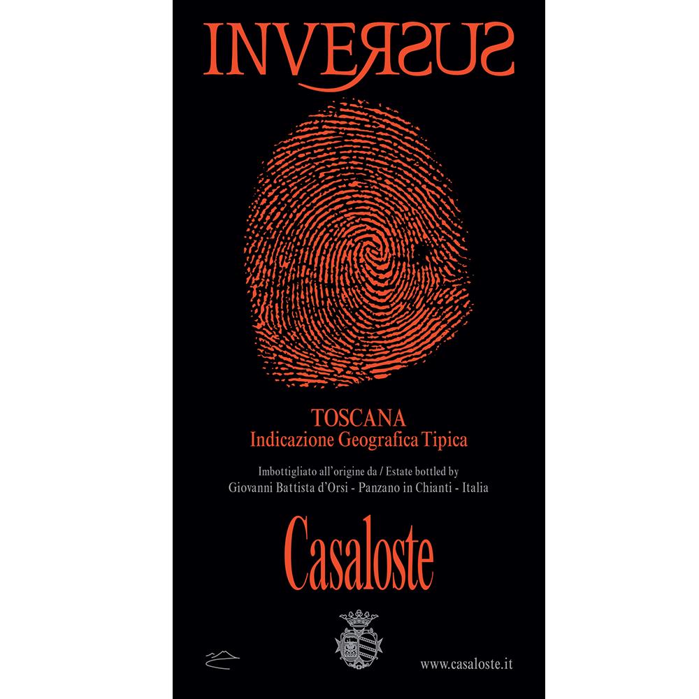 Casaloste Inversus etichetta